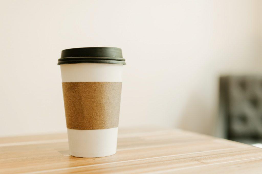 Coffee to Go: A Minimalist Birthday