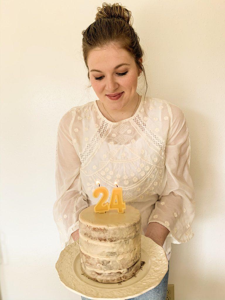 Minimalist Birthday Cake
