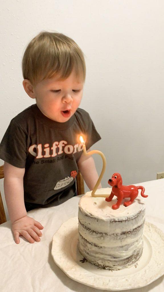 Clifford the Big Red Dog Birthday
