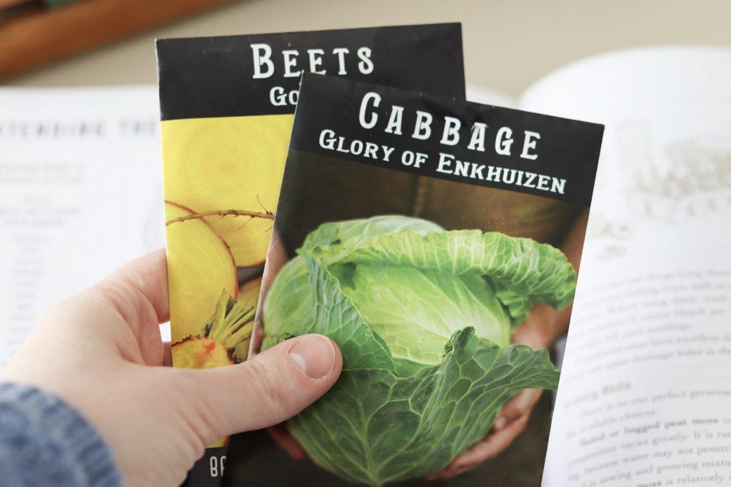 Baker Creek Seeds: growing vegetables