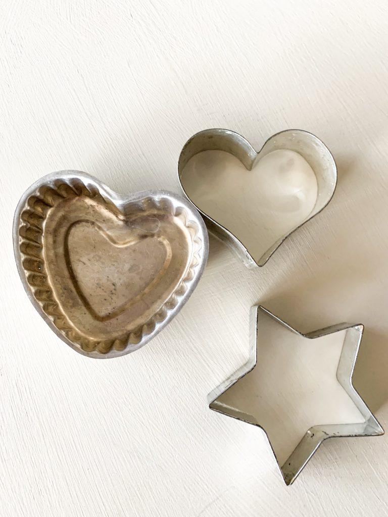 Vintage Valentine's Day Jello Molds and Cookie Cutters