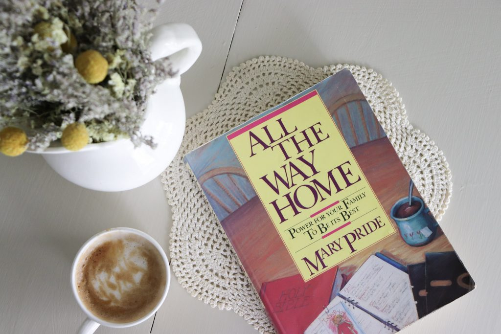 All the way home by Mary Pride